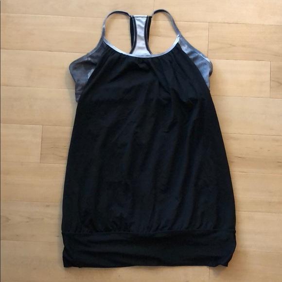 lululemon athletica Tops - Black Lululemon Athletica workout tank